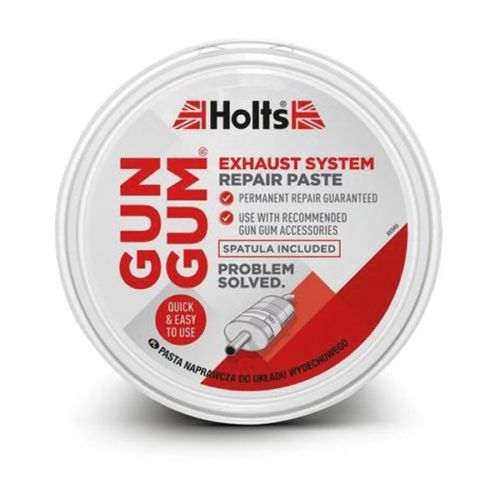 Holts HLGG2R Motoring Automotive Gun Gum Easy Repair Exhaust Paste 200g
