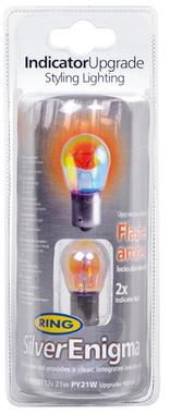 Ring Automotive RW3581 12V 21W Silver Enigma Indicator Bulbs Pair Thumbnail 1