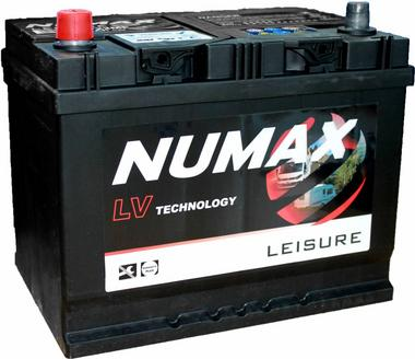 Numax LV22MF Heavy Duty Maintenance Free Leisure Marine Battery 75Ah Thumbnail 1