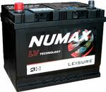 Numax LV22MF Heavy Duty Maintenance Free Leisure Marine Battery 75Ah
