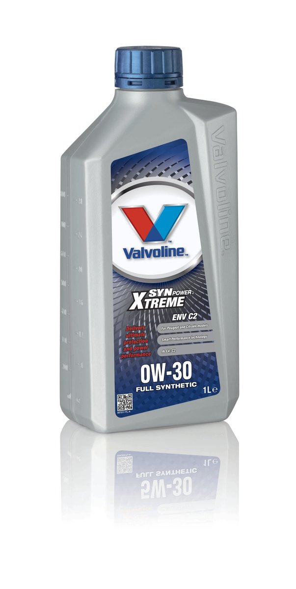 Valvoline 857211 Synpower ENV C2 0W30 Citreon Motoring Vehicle Car Engine Oil 1l