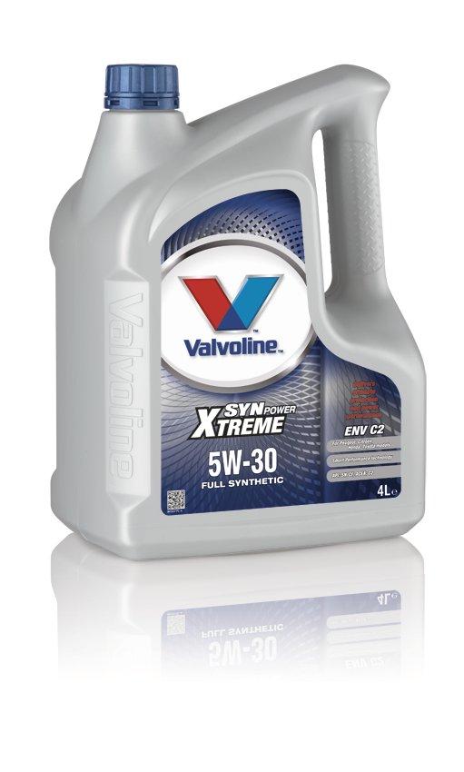 Valvoline 872521 Synpower ENV C2 SAE 5W-30 Renault Honda Toyota Car Engine Oil 4l