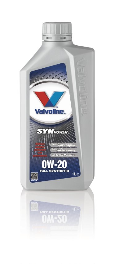 Valvoline 782105 Synpower SAE 0W-20 Volvo Motoring Vehicle Car Engine Oil 1 Litre