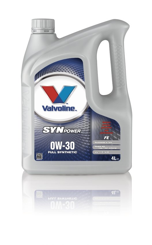 Valvoline 691342 Synpower FE SAE 0W-30 Volvo Motoring Vehicle Car Engine Oil 4l