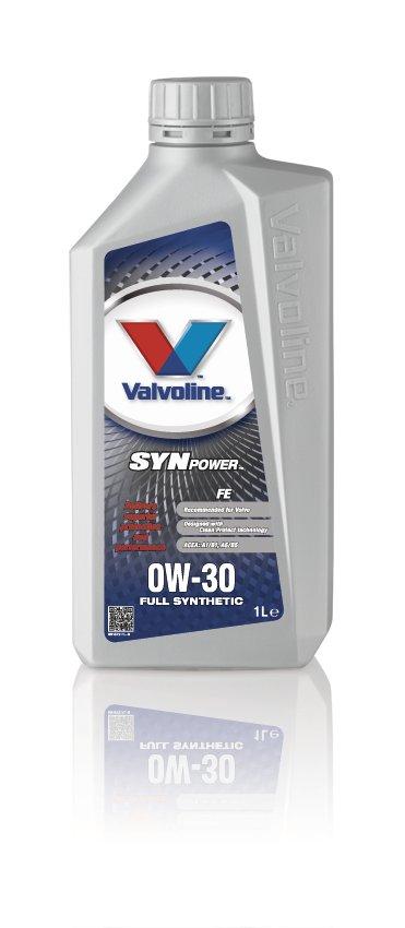 Valvoline 691572 Synpower FE SAE 0W-30 Volvo Motoring Vehicle Car Engine Oil 1l