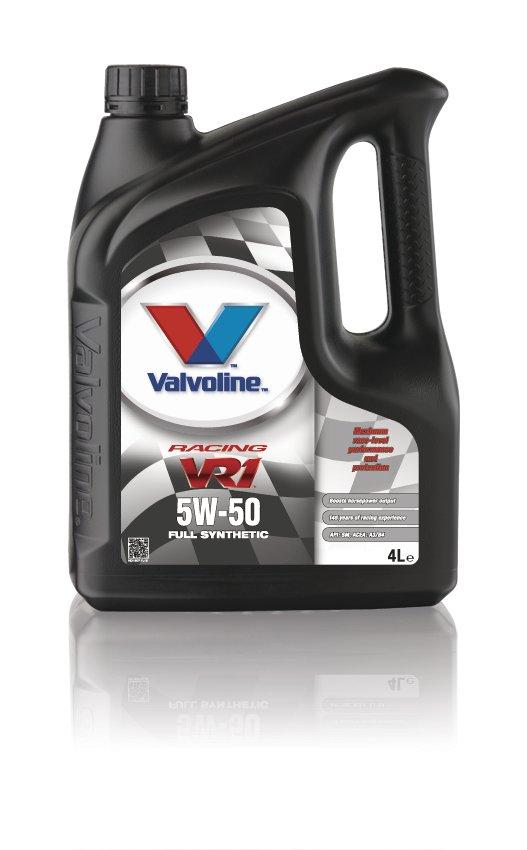 Valvoline VE11907 VR1 Racing SAE 5W-50 Ford GM Koenigsegg Car Engine Oil 4l
