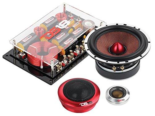 """DS18 DELUXE3C Deluxe 6.5"""" 200 Watt 3-Way Component Car Audio Speakers Single Thumbnail 2"""