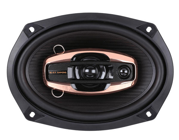 "DS18 BD-G694 Black Diamond 540 Watts 6x9"" Inch Coaxial Speakers Pair Thumbnail 2"