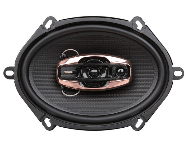 "DS18 BD-G574 Black Diamond 380 Watts 5x7"" Inch Coaxial Speakers Pair Thumbnail 2"