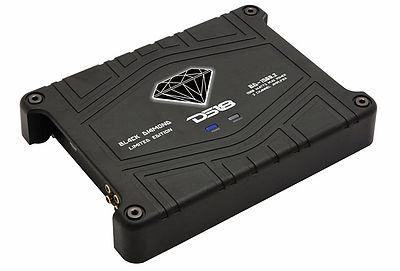 DS18 BD-1500.2 Black Diamond Car Audio 2 Channel Stereo 1500 Watt Amplifier
