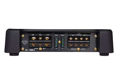 DS18 BD-1500.2 Black Diamond Car Audio 2 Channel Stereo 1500 Watt Amplifier Thumbnail 3
