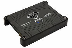 DS18 BD-1500.2 Black Diamond Car Audio 2 Channel Stereo 1500 Watt Amplifier