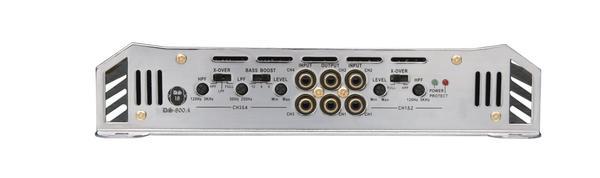 DS18 DS-800.4 GEN Series Car Audio 4 Channel Stereo 800 Watt Amplifier Thumbnail 3