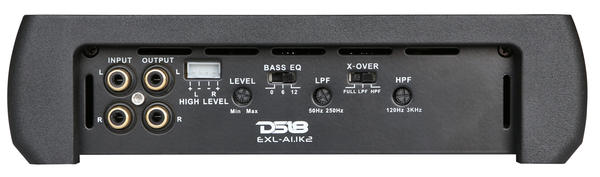 DS18 EXL-A1.1K2 EXL Series Car Audio 2 Channel Stereo 1100 Watt Amplifier Thumbnail 2