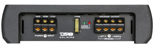 DS18 EXL-A1.1K2 EXL Series Car Audio 2 Channel Stereo 1100 Watt Amplifier Thumbnail 3