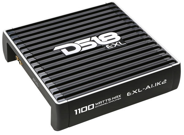 DS18 EXL-A1.1K2 EXL Series Car Audio 2 Channel Stereo 1100 Watt Amplifier Thumbnail 1