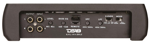 DS18 EXL-A4.8K2 EXL Series Car Audio 2 Channel Stereo 4800 Watt Amplifier Thumbnail 3