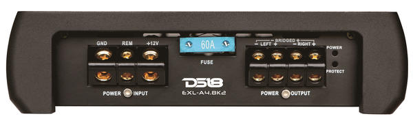 DS18 EXL-A4.8K2 EXL Series Car Audio 2 Channel Stereo 4800 Watt Amplifier Thumbnail 2