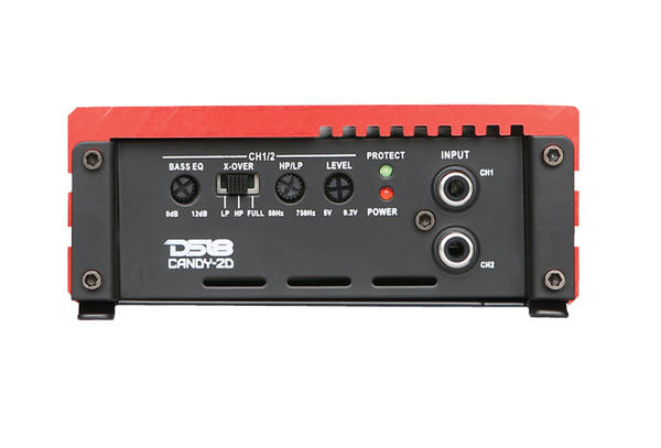 DS18 CANDY-2DR Candy Series Car Audio 2 Channel Stereo 1000 Watt Amplifier Thumbnail 2