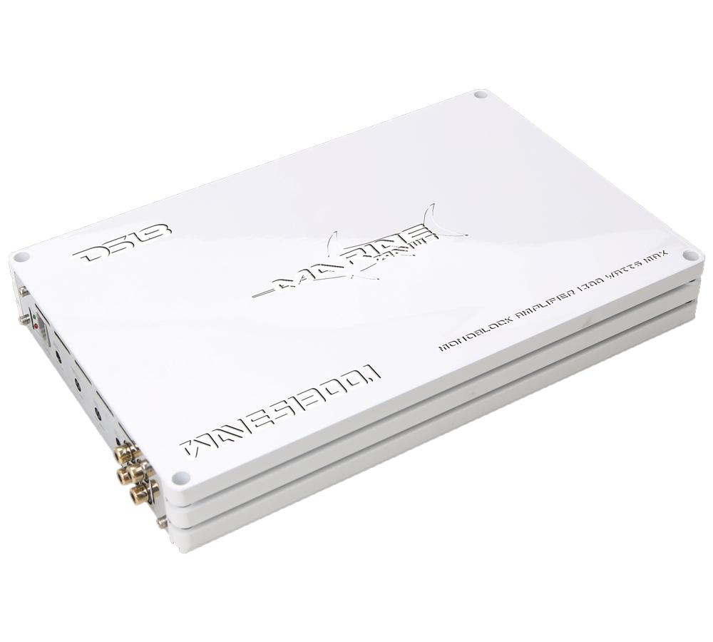 DS18 WAVES1300.1 1300 Watt Monoblock Marine Amplifier