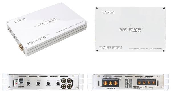 DS18 WAVES1300.1 1300 Watt Monoblock Marine Amplifier Thumbnail 4