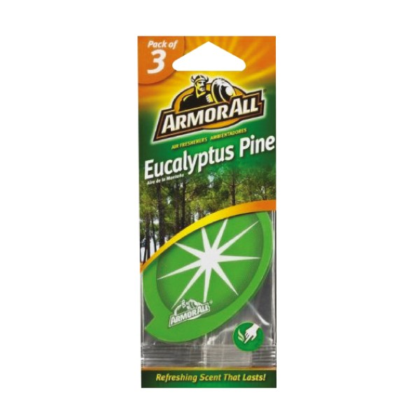 Armorall 17200ML Eucalyptus Pine Hanging Air Freshener 3 Pack