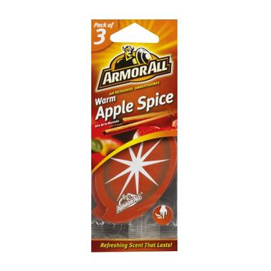 Armorall 17203ML Warm Apple Hanging Air Freshener 3 Pack Thumbnail 1