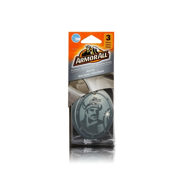 Armorall 78522ML New Car Hanging Air Freshener 3 Pack Thumbnail 1