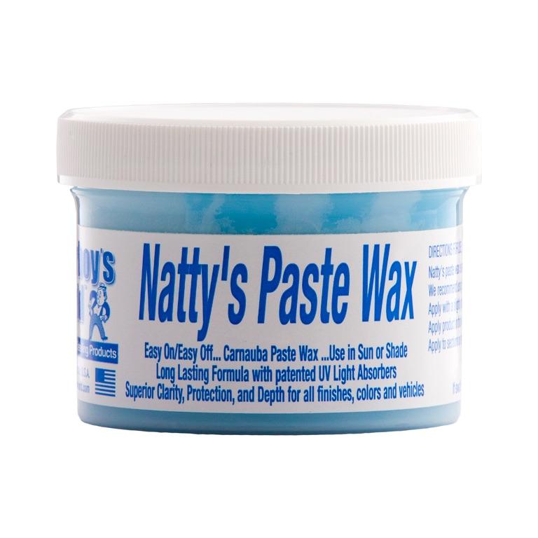 Poorboys PB-NPB08 Car Cleaning Valeting Nattys Paste Wax Blue 235ml