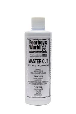 Poorboys PB-MC16 Car Cleaning Valeting Polishing Wax Mastercut Compound 473ml Thumbnail 1