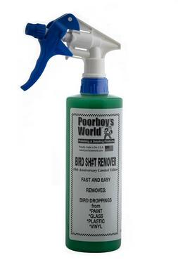 Poorboys PB-BSR16 Car Cleaning Valeting Polishing Wax Bird Sh#T Remover 473ml Thumbnail 1