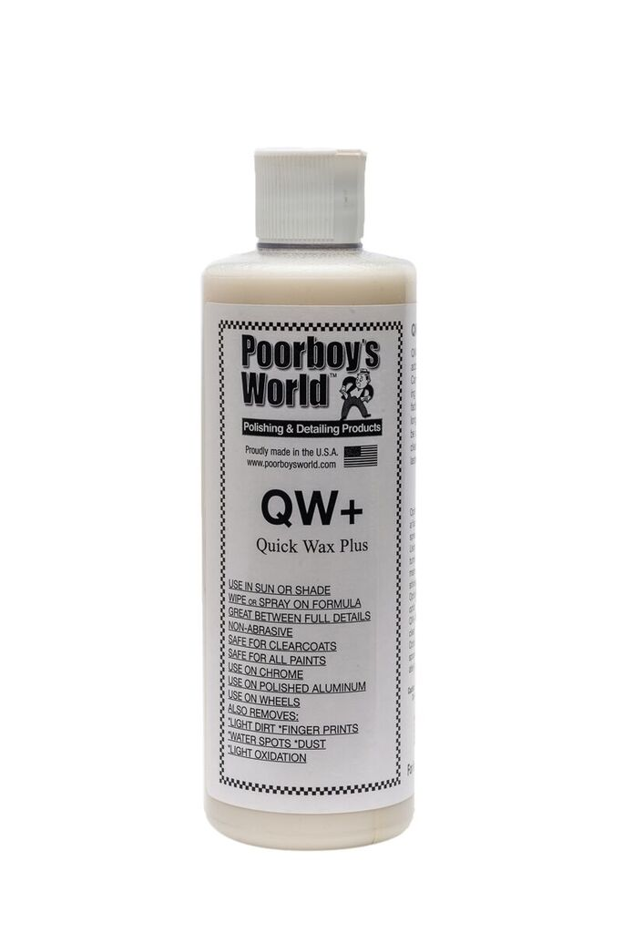 Poorboys PB-QW16 Car Cleaning Valeting Quick Wax Plus 473ml