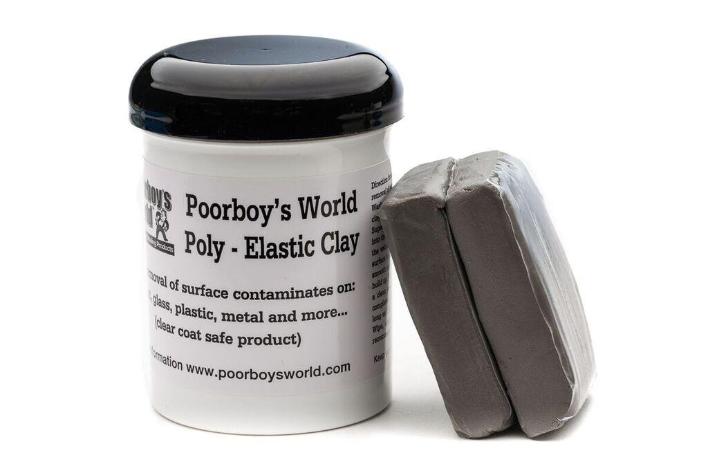 Poorboys PB-CL1 Car Cleaning Valeting Polishing Wax Clay Bar 200G