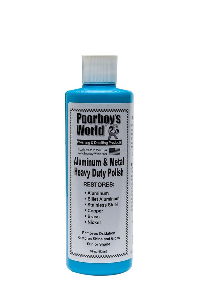 Poorboys PB-AM16 Car Cleaning Valeting Hd Aluminum & Metal Polish 473ml