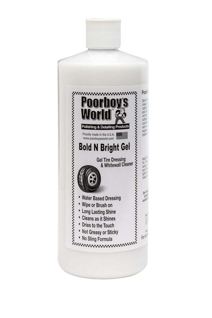 Poorboys PB-BBG32 Car Cleaning Valeting Polishing Wax Bold N Bright Gel 946ml