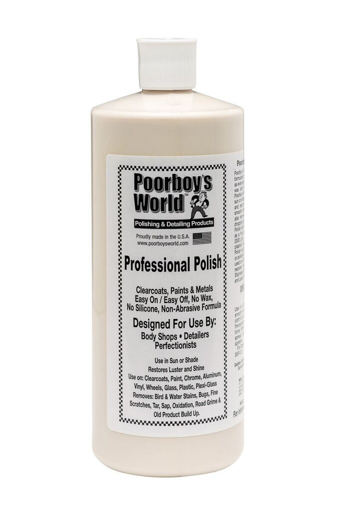 Poorboys PB-PP32 Car Cleaning Valeting Professional Polish 946ml