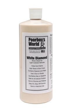 Poorboys PB-WD32 Car Cleaning Valeting Polishing Wax White Diamond 946ml Thumbnail 1
