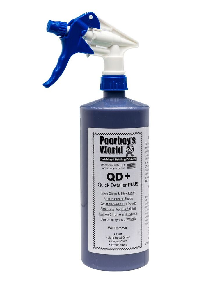 Poorboys PB-QD32 Car Cleaning Valeting Polishing Wax Quick Detailer Plus 946ml