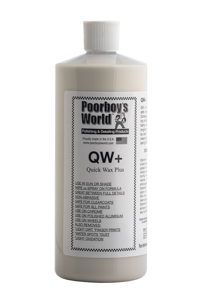 Poorboys PB-QW32 Car Cleaning Valeting Polishing Wax Quick Detailer 946ml