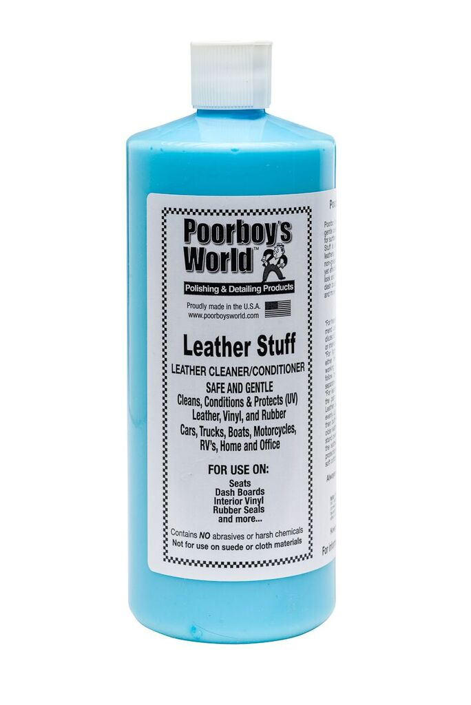 Poorboys PB-LS32 Car Cleaning Valeting Polishing Wax Leather Stuff 946ml