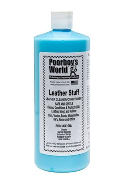 Poorboys PB-LS32 Car Cleaning Valeting Polishing Wax Leather Stuff 946ml Thumbnail 1