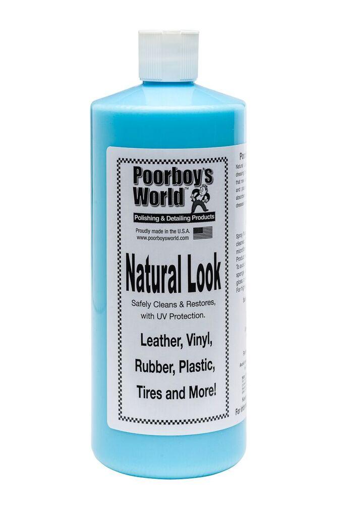 Poorboys PB-NL32 Car Cleaning Valeting Polishing Wax Natural Look 946ml
