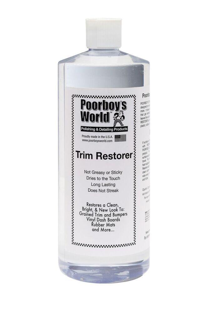 Poorboys PB-TR32 Car Cleaning Valeting Polishing Wax Trim Restorer 946ml