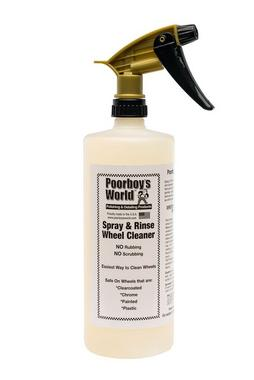 Poorboys PB-SPR32 Car Cleaning Valeting Polishing Wax Spray And Rinse 946ml Thumbnail 1