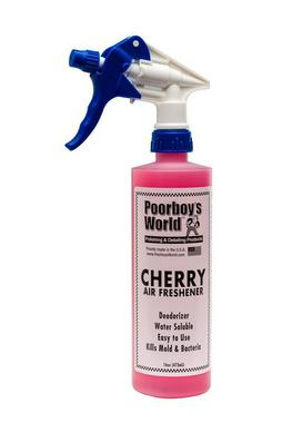 Poorboys PB-AFC16 Car Cleaning Valeting Air Freshener Cherry 473ml Thumbnail 1