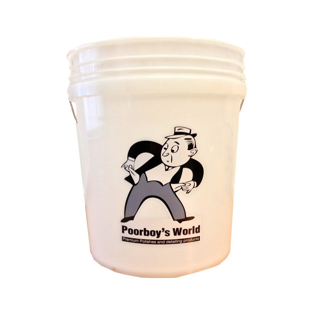 Poorboys PB-Bucket Car Cleaning Valeting 18.9 litre Shampoo Wash Bucket