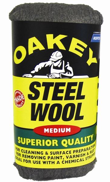 Oakey Norton 63642526772 Medium Steel Wool 200 Grams