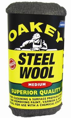 Oakey Norton 63642526772 Medium Steel Wool 200 Grams Thumbnail 1