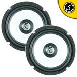 "Bassface SPL6M.3 6.5"" 16.5cm 500w 4Ohm Midbass Driver Car Door Speaker Pair"