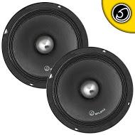 "Bassface SPL8M.2 8"" 20cm 100W 8Ohm Midrange Midbass Driver SPL Speaker Pair"